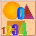 Bé học số và hình khối