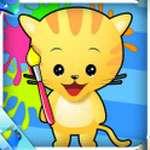 Bé vui vẽ tranh  icon download