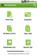 Evernote cho Android