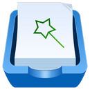 File Expert with Clouds  icon download