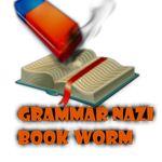 Grammar Nazi Book Worm