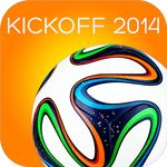 KICKOFF 2014 World Cup App  icon download