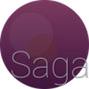 saga 2 aeron icons theme nova