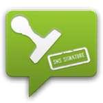 SMS Signature  icon download