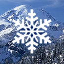 Snowy Mountain Live Wallpaper