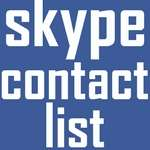 TK Contact list for Skype on Android icon download