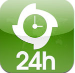 24h HD for iPad icon download