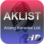 AKList Ariang Karaoke List  icon download