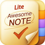 Awesome Note Lite  icon download
