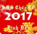 Chúc tết 2017 cho iPhone