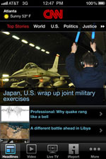 CNN App cho iPhone