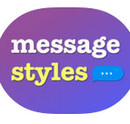 Custom Message Styles cho iPhone icon download