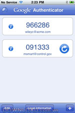Google Authenticator for iPhone icon download