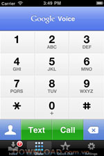 Google Voice for iPhone icon download