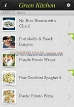 Green Kitchen for iPhone