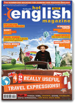 Learn Hot English Magazine