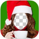 Merry Christmas Funny Photo booth  icon download