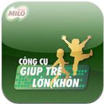 MILO Giúp trẻ lớn khôn for iOS