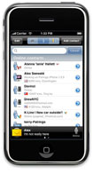 Palringo for iPhone
