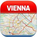 Vienna Offline Map City Metro Airport  icon download