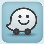 Waze Social GPS Maps and Traffic  icon download