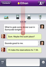 Yahoo! Messenger for iPhone icon download