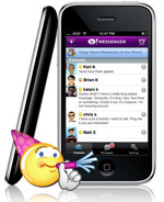 Yahoo! Messenger for mobile
