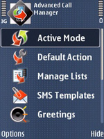 Advanced Call Manager Free for Symbian
