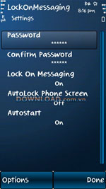 LockOnMessaging for Nokia icon download
