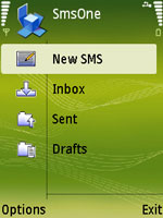 SmsOne (S60 3rd Edition) for Symbian